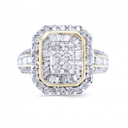 WLR43154Y | Halo Rings | Payroll Jewelry