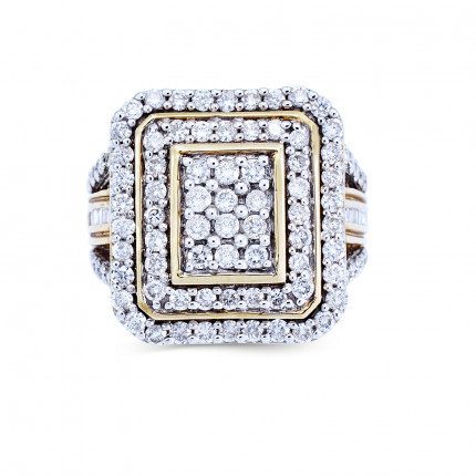 WLR49210Y | Halo Rings | Payroll Jewelry