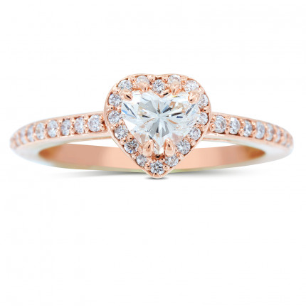 WS122088P   Halo Engagement Ring   Payroll Jewelry