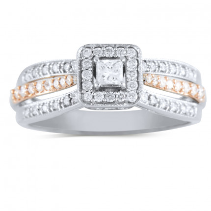WS248P | Halo Engagement Ring | Payroll Jewelry