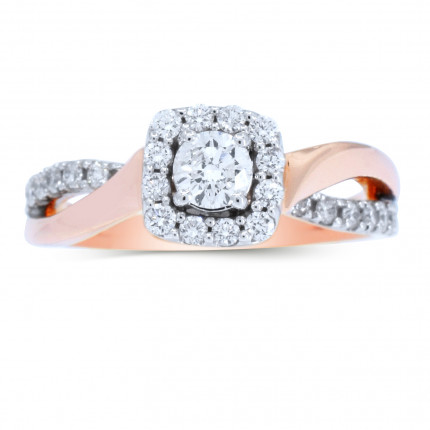 WS26482P | Halo Engagement Ring | Payroll Jewelry