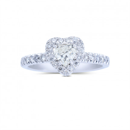 WS5077W   Halo Rings   Payroll Jewelry