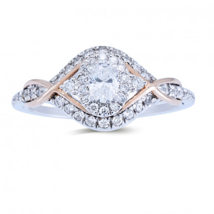 WS61805WP | Halo Rings | Payroll Jewelry