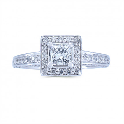 WS726PRW | Halo Rings | Payroll Jewelry