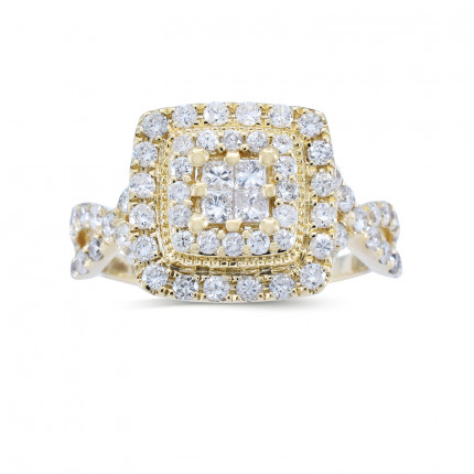 WSF28527Y | Halo Rings | Payroll Jewelry