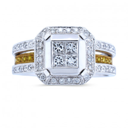 WSF633TT | Halo Rings | Payroll Jewelry