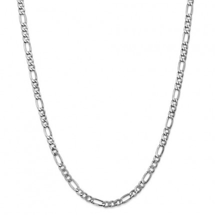5.75mm Rope Chain | 14K White Gold | 24 Inch