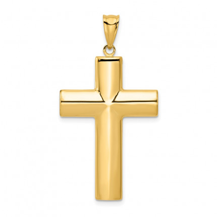 K1206 | Gold Cross Pendant | Payroll Jewelry
