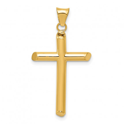 K6178 | Gold Cross Pendant | Payroll Jewelry