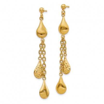 LE1578 | Gold Hoop Earrings | Payroll Jewelry