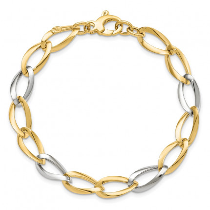 LF604-7.5 | Gold Bracelet | Payroll Jewelry