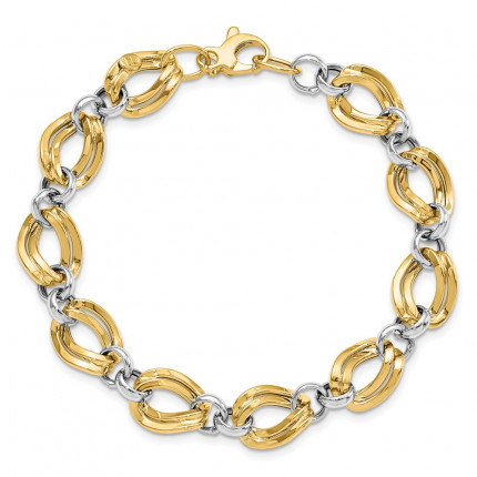 LF722-7.5 | Gold Bracelet | Payroll Jewelry