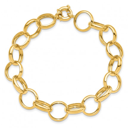 LF766-8 | Gold Bracelet | Payroll Jewelry