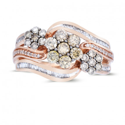 LR215P | White Gold Ladies Ring | Payroll Jewelry