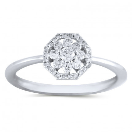 LR22148W   Halo Ladies Engagement Ring   Payroll Jewelry