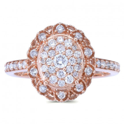 LR332P | Halo Rings | Payroll Jewelry