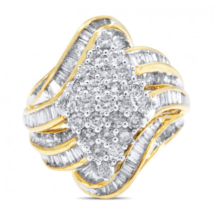 LR356Y   Yellow Gold Ladies Ring   Payroll Jewelry