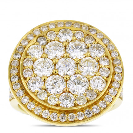 LR851237Y | Yellow Gold Ladies Ring | Payroll Jewelry