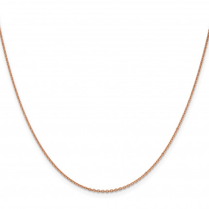 RSC21-22 | Rose Gold Cable Chain | Payroll Jewelry
