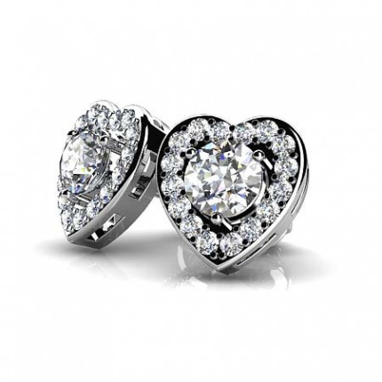ST985-50   Cluster Earrings   Payroll Jewelry