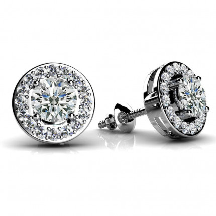 ST990-25 | Cluster Earrings | Payroll Jewelry
