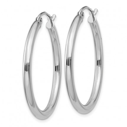 T838L | Gold Hoop Earrings | Payroll Jewelry