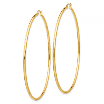 TF550 | Gold Hoop Earrings | Payroll Jewelry