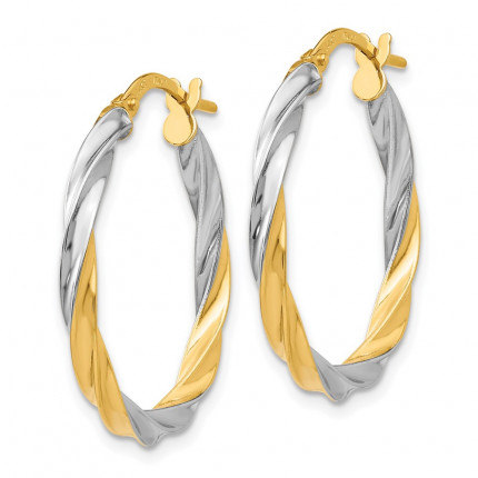 TH717 | Gold Hoop Earrings | Payroll Jewelry