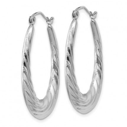 TH792 | Gold Hoop Earrings | Payroll Jewelry