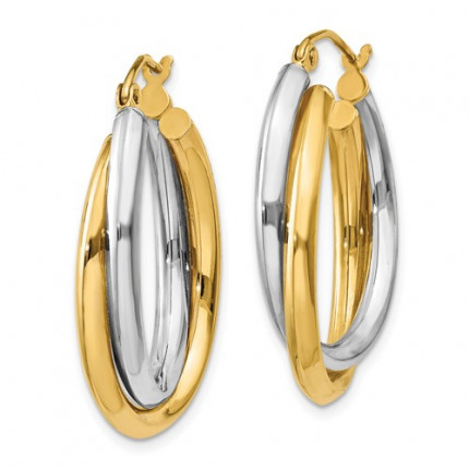 TM397 | Gold Hoop Earrings | Payroll Jewelry