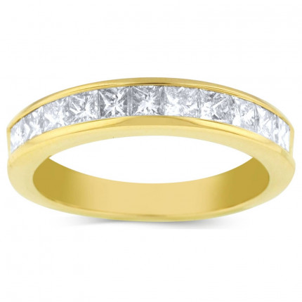WB11288Y   Yellow Gold Band   Payroll Jewelry