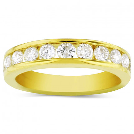 WB11578Y   Yellow Gold Band   Payroll Jewelry