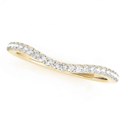WB50552Y | Yellow Gold Band. | Payroll Jewelry