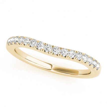 WB50668Y | Yellow Gold Band. | Payroll Jewelry