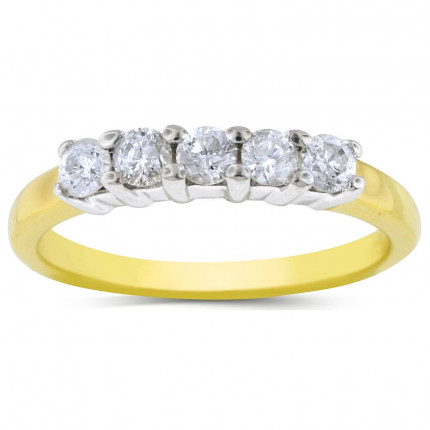 WB5208Y   Yellow Gold Band   Payroll Jewelry