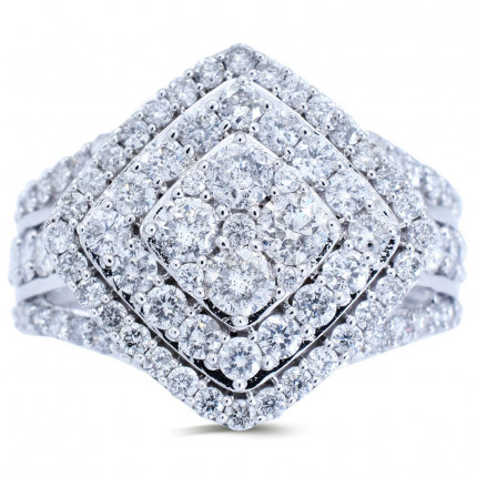 WLR181537W   Halo Rings   Payroll Jewelry