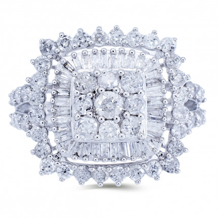 WLR191125W | Halo Rings | Payroll Jewelry