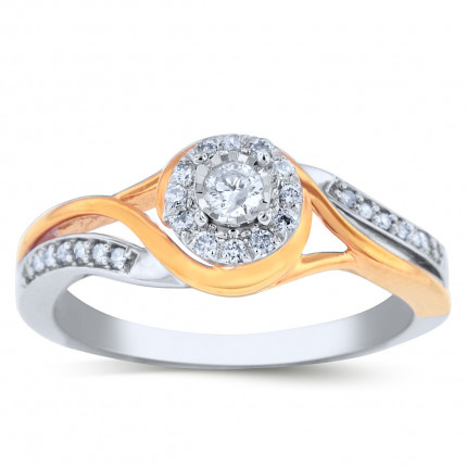 WLR20103PW | Halo Ladies Engagement Ring | Payroll Jewelry