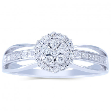 WLR216W   Halo Rings   Payroll Jewelry