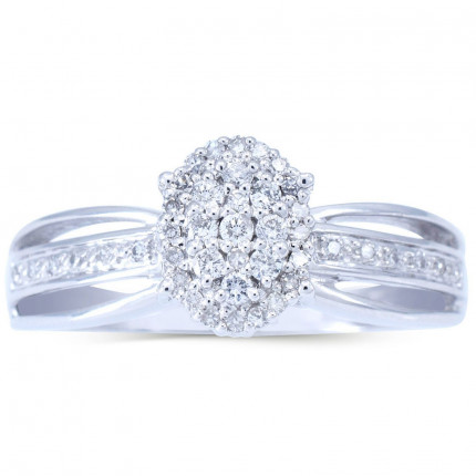 WLR224W | Halo Rings | Payroll Jewelry