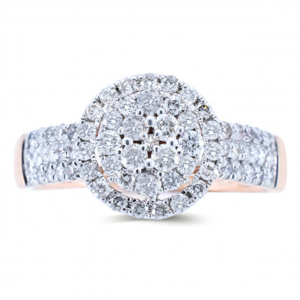 WLR30535R | Halo Rings | Payroll Jewelry