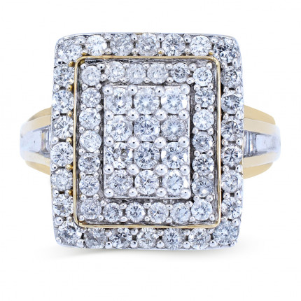 WLR48952Y   Halo Rings   Payroll Jewelry