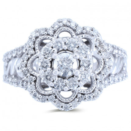 WLR584W   Halo Rings   Payroll Jewelry
