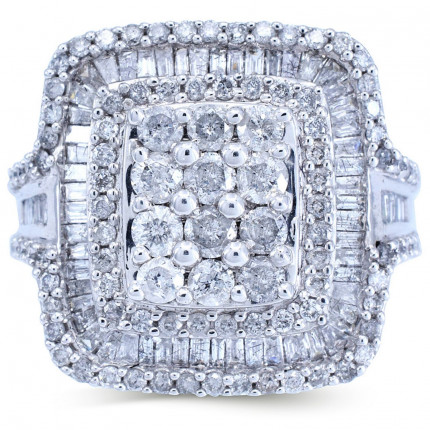 WLR83071W | Halo Rings | Payroll Jewelry