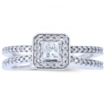 WS264PRW   Halo Rings   Payroll Jewelry