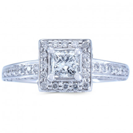 WS726PRW   Halo Rings   Payroll Jewelry