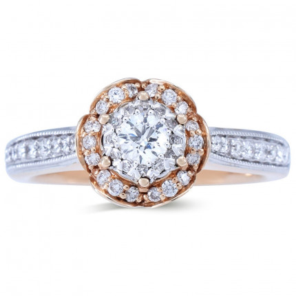 WS801030PW | Halo Rings | Payroll Jewelry