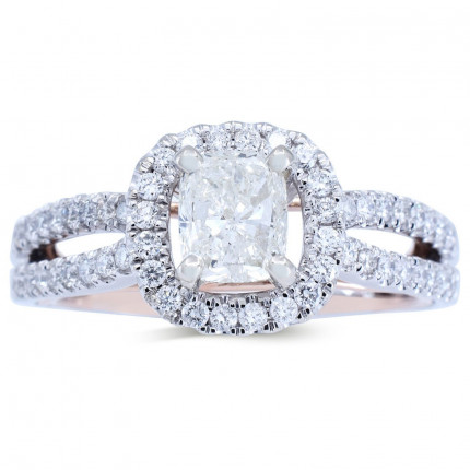 WS806199PW | Halo Rings | Payroll Jewelry