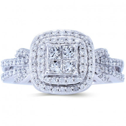 WSF479PW | Halo Rings | Payroll Jewelry