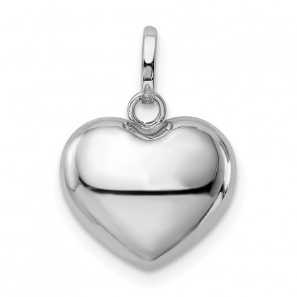 XCH111 | Gold Heart Pendant | Payroll Jewelry